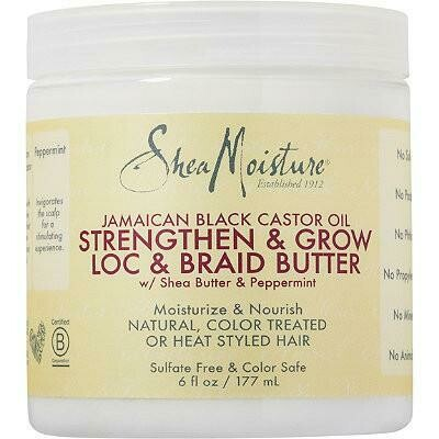 SheaMoisture - Jamaican Black Castor Oil Strengthen & Grow Loc & Braid Butter