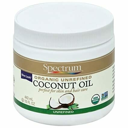 Spectrum Essentials - Organic Unrefined Coconut Oil
