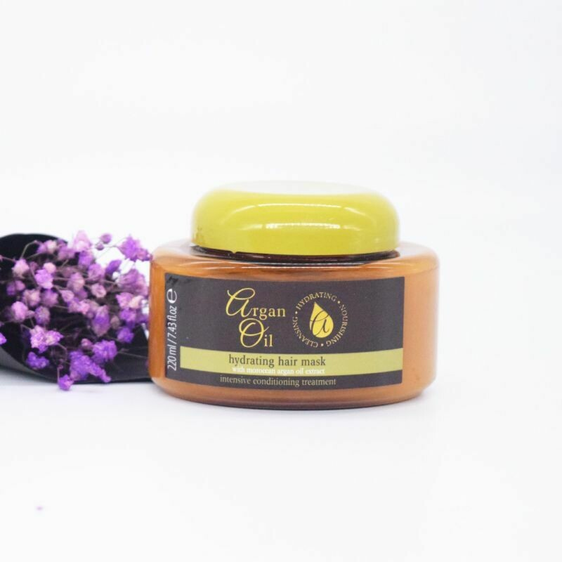 Moroccan Argan Oil - Hydrating Hair Mask With Moroccan Argan Oil Extract