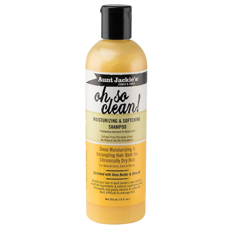 Aunt Jackie's - Curls & Coils Oh So Clean! Moisturizing & Softening Shampoo