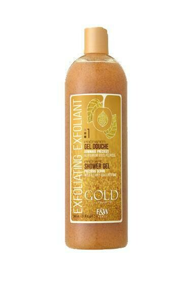 Fair & White - Gold Precious Scrub Exfoliating Shower Gel