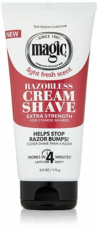 SoftSheen Carson Magic - Razorless Shaving Cream for Men