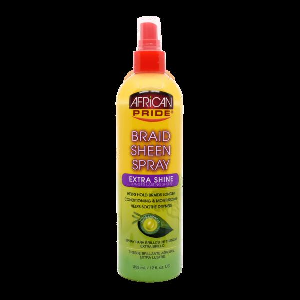African Pride - Extra Shine Braid Sheen Spray