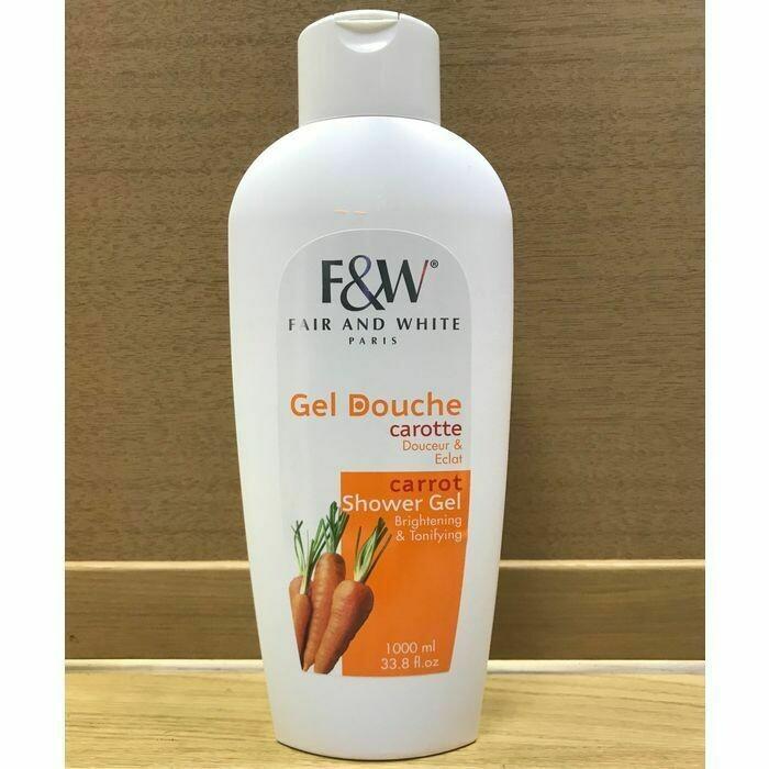 Fair & White - Original Carrot Brightening & Tonifying Shower Gel