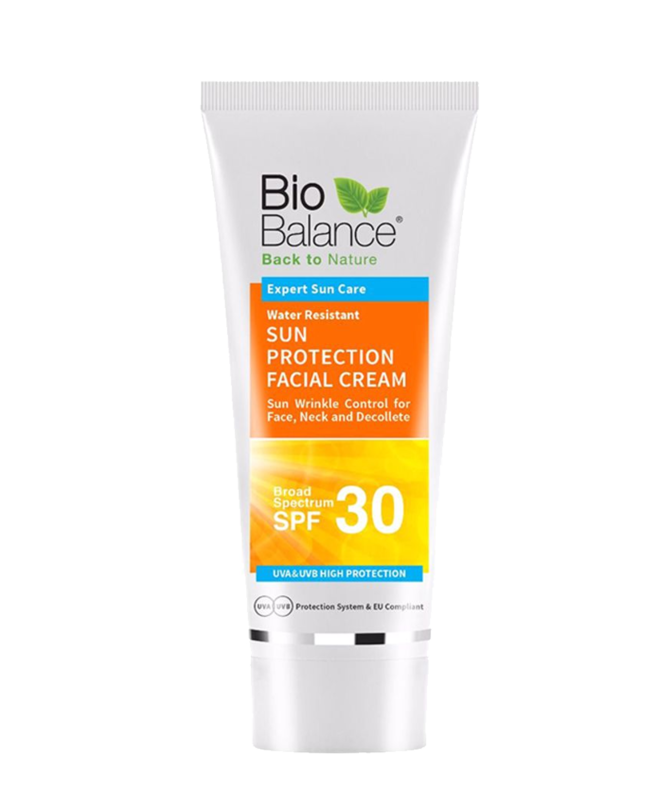 Bio Balance - Water Resistant Sun Protection Cream 30SPF