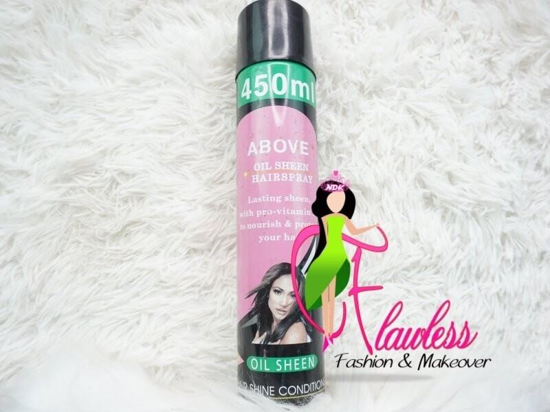 Nova - Above Oil Sheen Hair Spray