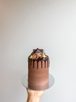 5 INCH double layer CAKE  (serves 6-10)