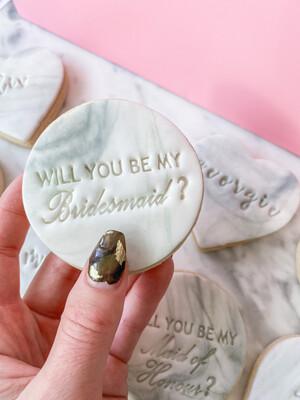 BRIDESMAID PROPOSAL COOKIES