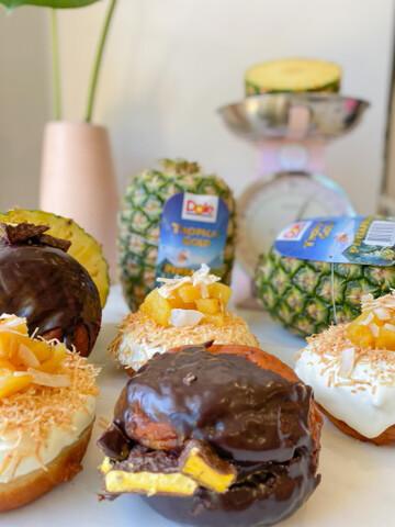 @justjesscakeco X Dole NZ - International Pineapple Day Donut Day! (27/06)
