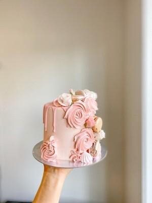 Lil Cutie Rosette Cake