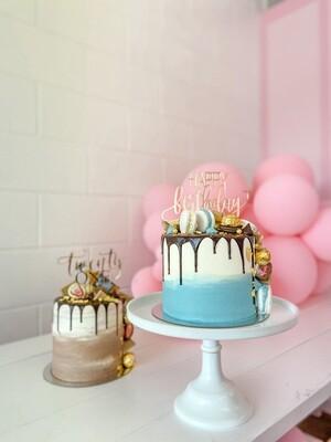 Boujee Boi Loaded Cake