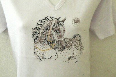 HORSE w MOON