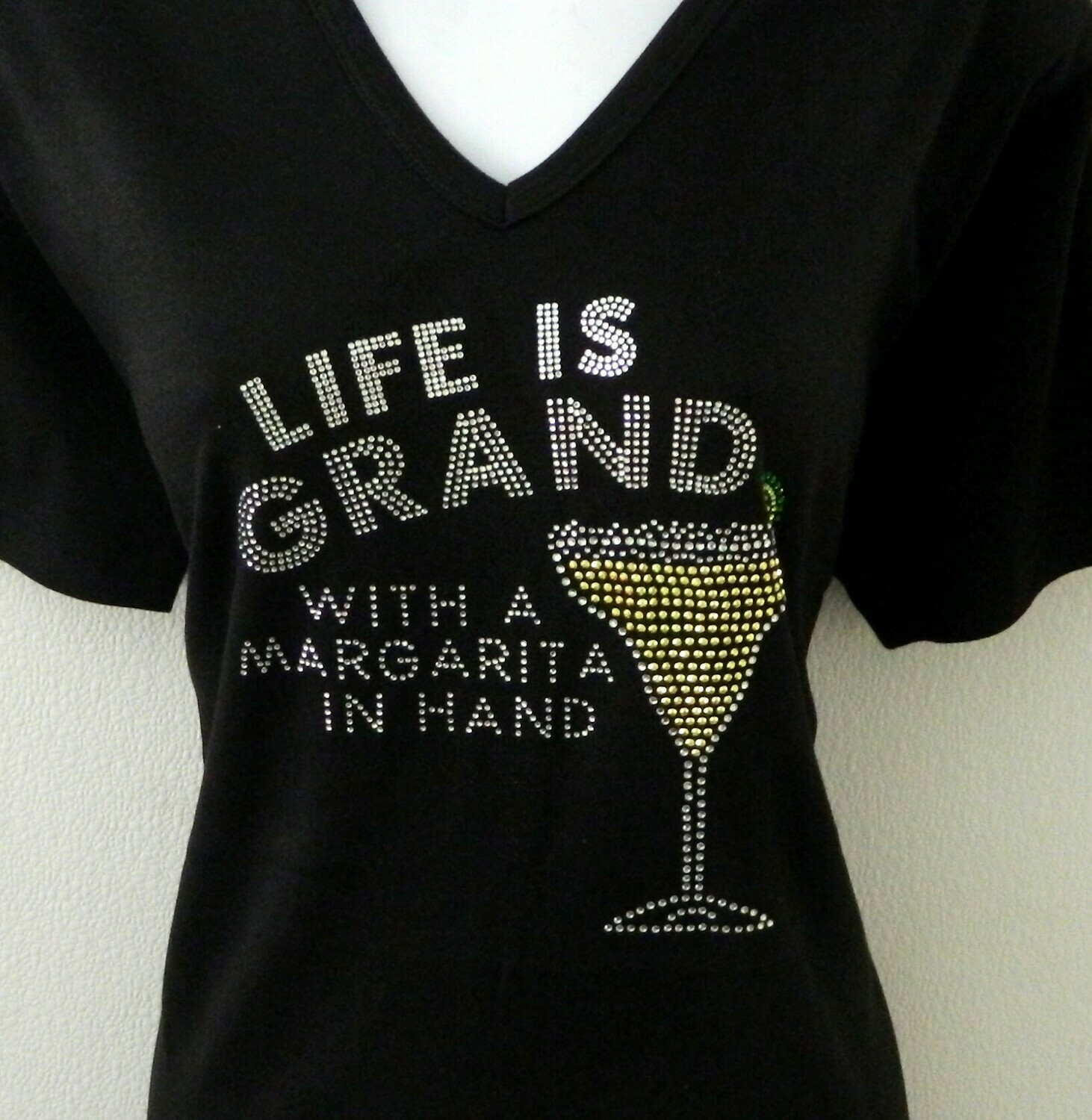 LIFE IS GRAND -with a Margarita in Hand