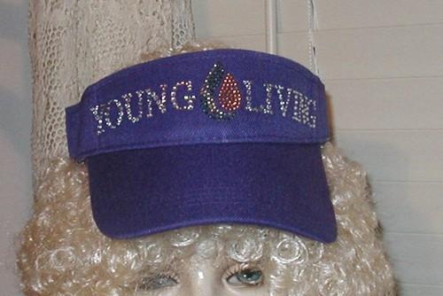 Young Living Sun Visor  (Purple)