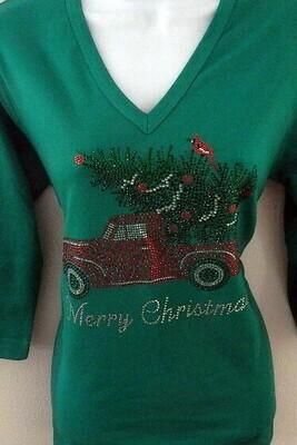 Christmas  Pickup w Cardinal