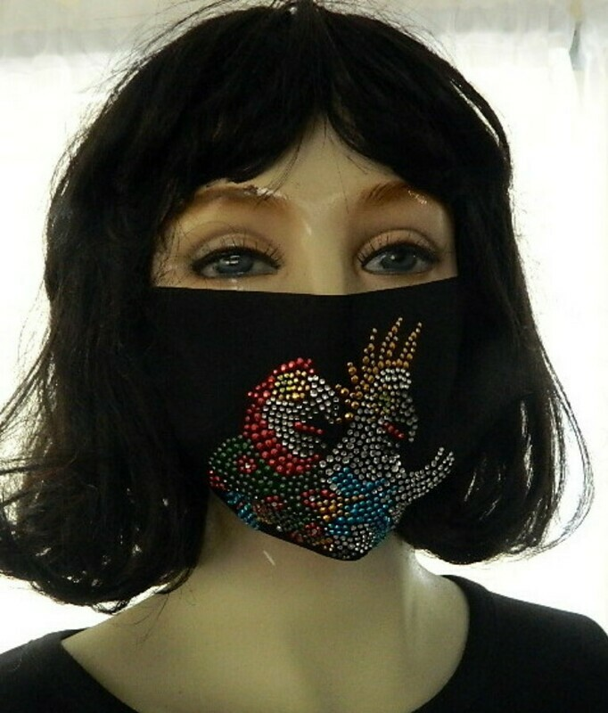 NON-SURGICAL  FACE MASKS             PARROT HEAD