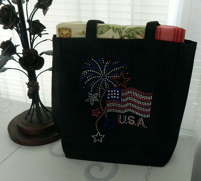 American Flag w Fireworks