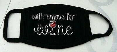 WILL REMOVE FOR WINE