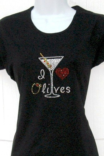 I (heart) Olives (Martini)