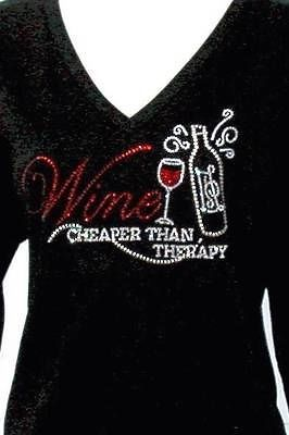 Wine Cheaper than Therapy