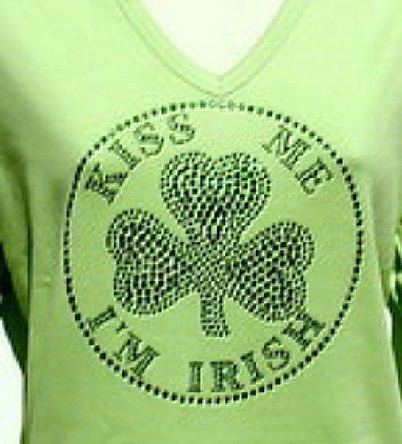 KISS ME I'M IRISH   (circle)