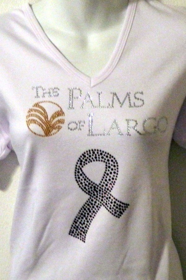 PALMS OF LARGO - Fundraising Shirts % will be donated