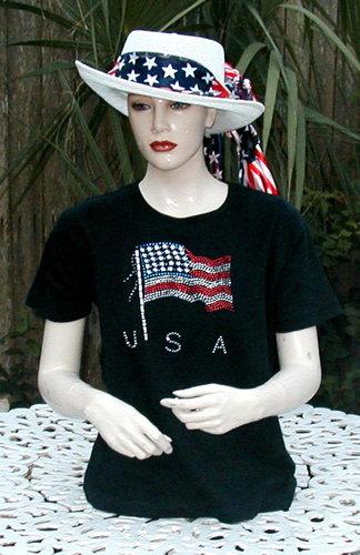 American Rhinestone Flag