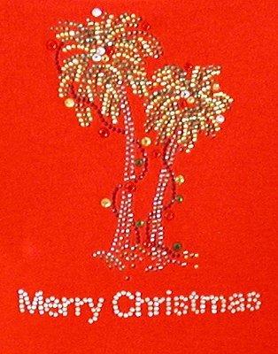 Merry Christmas Palm Trees