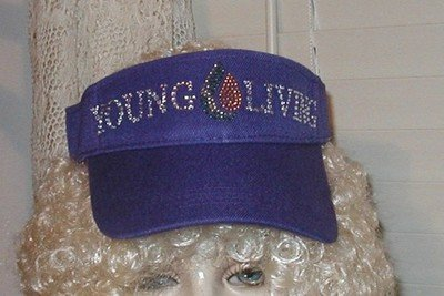 Young Living Sun Visor  (Purple)