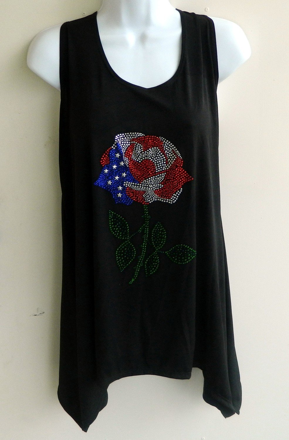SLEEVELESS Tunics - USA Rose