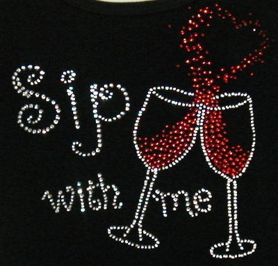 SIP WITH ME  WINE/HEART