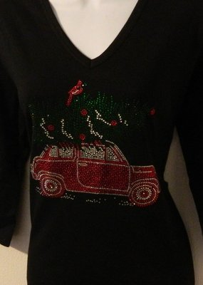 Christmas Tree on SUV