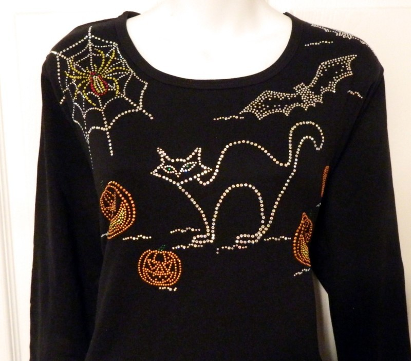 BATS & CATS  (LARGE) NECKLINE