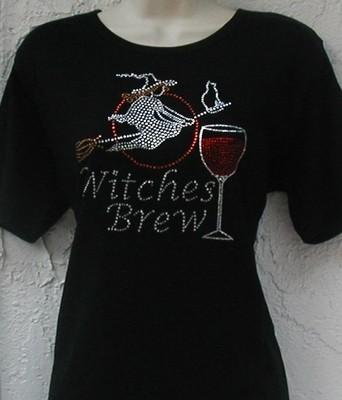 Halloween - Witches Brew - wine design