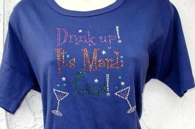 Drink Up it's Mardi Gras