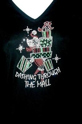 Dashing thru the Mall