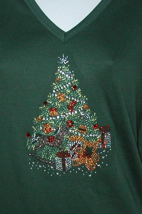 Christmas Tree w Teddy Bear with  Presents