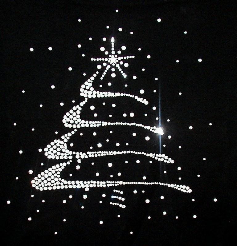 Elegant Silver Christmas Tree