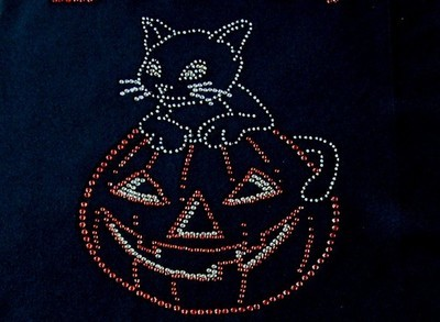 Halloween Kitty on Pumpkin