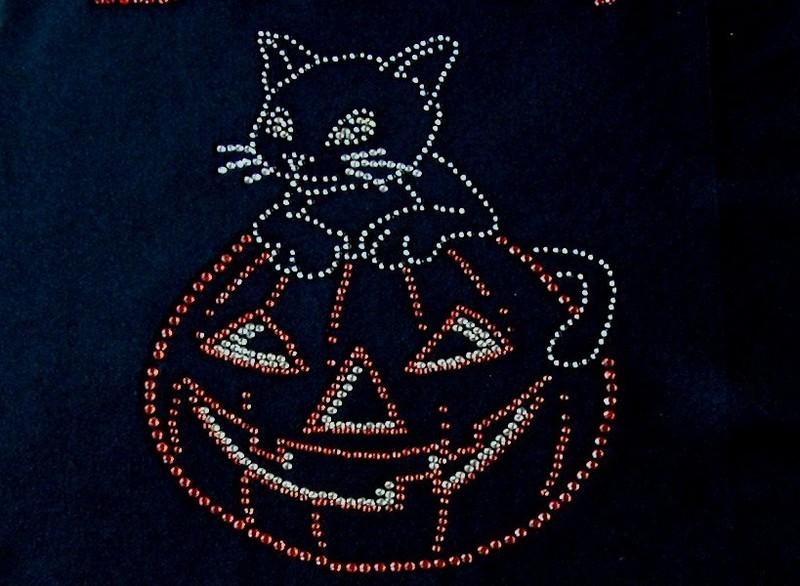Halloween Kitty on Pumpkin