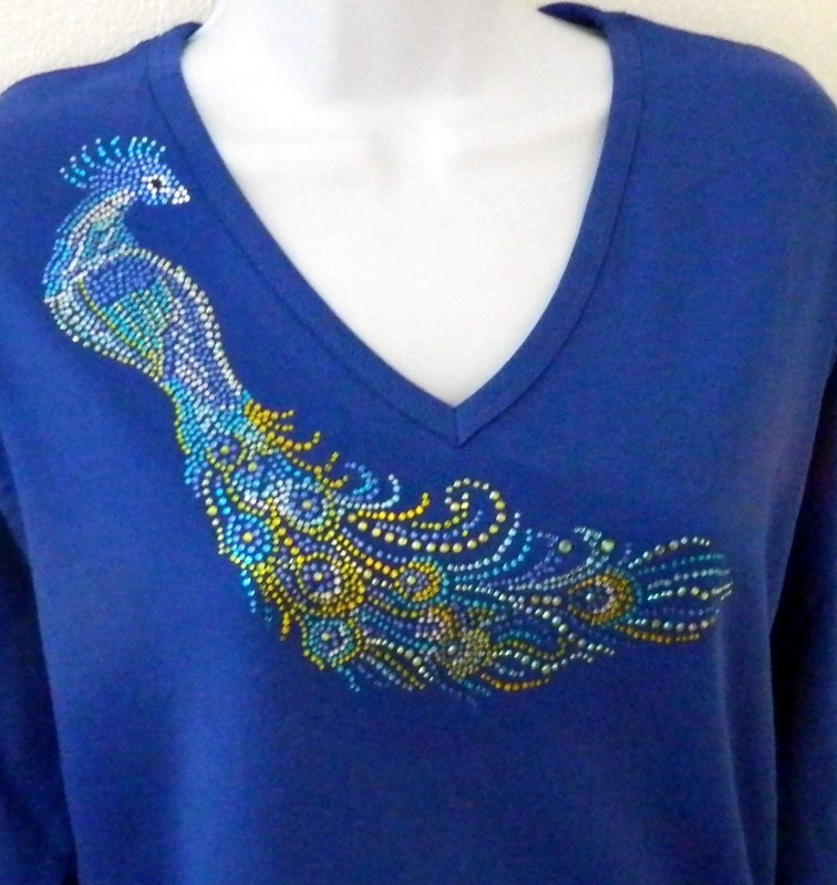 Peacock - larger design