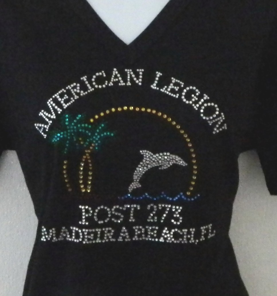 American Legion Large Logo Shirt- only available at post
