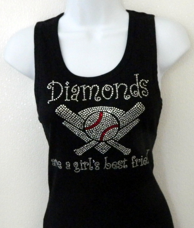 Diamonds are a Girls Best Friend    - clear