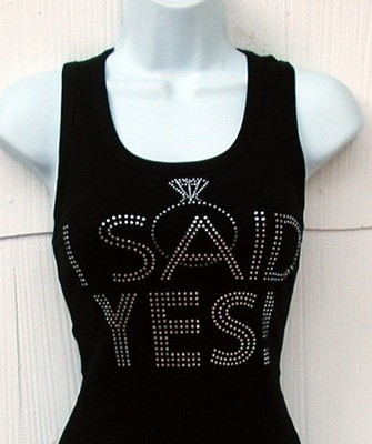 I SAID YES!  engagement shirt