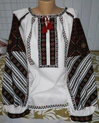 Вишиванка, жіноча вишивана блузка ручної роботи
