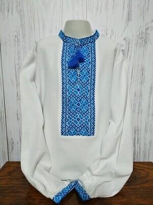 Вишиванка, дитяча вишивана сорочка для хлопчика (Арт. 02377)
