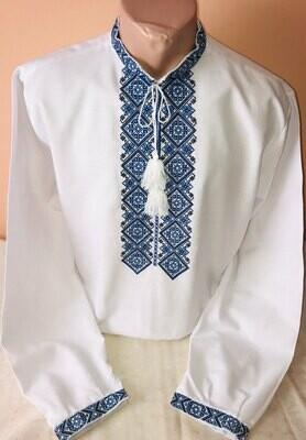 Вишиванка, чоловіча вишита сорочка (Арт. 02565)