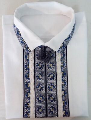 Вишиванка ручної роботи, чоловіча сорочка (Арт. 02566)
