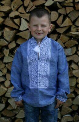 Вишиванка, дитяча вишивана сорочка для хлопчика (Арт. 02615)
