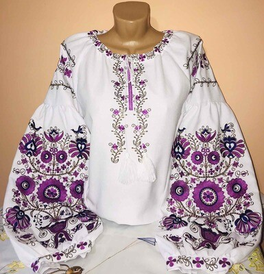 Вишиванка, жіноча вишивана блузка